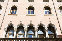 Vicenza, rua de Palladio Imagem de Stock Royalty Free