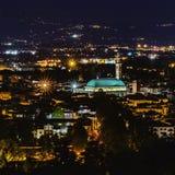 Vicenza& x27; s-Nachtfarben stockbilder