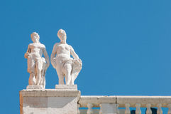 Vicenza sculptures Royalty Free Stock Image