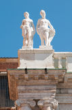 Vicenza sculptures Royalty Free Stock Photography