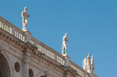 Vicenza sculptures Royalty Free Stock Images