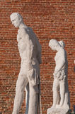 Vicenza sculptures Stock Images