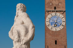 Vicenza sculptures Stock Photography