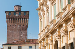Vicenza towers Stock Photography