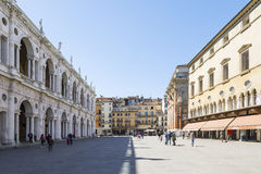 Vicenza town square Stock Image