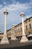 Vicenza (Veneto, Italy): The historic main square Royalty Free Stock Image
