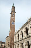 Vicenza (Veneto, Italy): The main square Royalty Free Stock Images