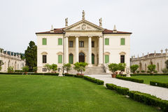 Vicenza, Veneto, Italy - Villa Cordellina Lombardi, built in 18th century. VICENZA, ITALY - MAY 13: Villa Cordellina Lombardi, built in 18th century on a design royalty free stock images