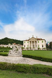 Vicenza, Veneto, Italy - Villa Cordellina Lombardi, built in 18th century. Vicenza, Italy - May 13, 2015: Villa Cordellina Lombardi, built in 18th century on a royalty free stock photo