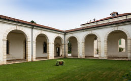 Vicenza, Veneto, Italy - Villa Cordellina Lombardi, built in 18th century. Montecchio Maggiore(Vicenza, Veneto, Italy) - Villa Cordellina Lombardi, built in 18th royalty free stock photography
