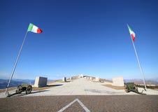Vicenza, VI, Itália - 8 de dezembro de 2015: Memorial de guerra da primeira guerra Fotografia de Stock Royalty Free