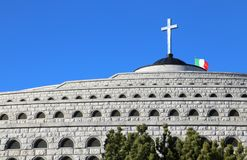 Vicenza, VI Włochy, Grudzień, - 8, 2015: Wojenny pomnik Pierwszy wojna Fotografia Royalty Free