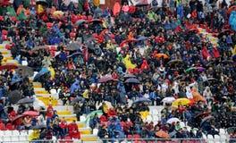 VICENZA WŁOCHY, Październik, - 13, 2015: UEFA Under-21 mistrzostwo Qu Fotografia Stock