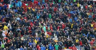 VICENZA WŁOCHY, Październik, - 13, 2015: UEFA Under-21 mistrzostwo Qu Obraz Stock