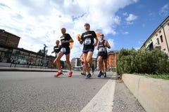 Vicenza, Włochy, 20 2015 Wrzesień canada maratonu Ontario Ottawa biegacze Fotografia Royalty Free