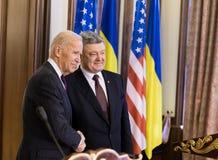 Vicepresidente de los E.E.U.U. Joe Biden Imagen de archivo