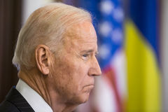 Vicepresidente di U.S.A. Joe Biden Fotografia Stock Libera da Diritti