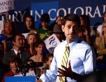 Vicepresidentkandidat Paul Ryan arkivfoto