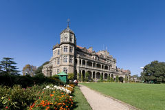 Viceregal lodge, Shimla , India. Viceroys lodge in Scottish baronial style built during the British raj. Now called Rashtrapati Niwas, the Lodge houses the Stock Photography