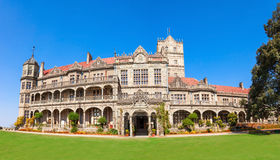 Viceregal Lodge, Shimla. The Indian Institute of Advanced Study (before the Viceregal Lodge) is a research institute based in Shimla, India Royalty Free Stock Image