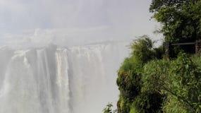 Vicfalls Zambezi Zambia royalty free stock images