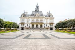 Buildings in Vichy city , France Stock Photo