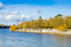 Vichy, France, dock, Auvergne Royalty Free Stock Photos
