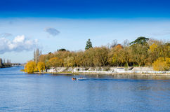 Vichy, Frankreich, Dock, Auvergne Lizenzfreies Stockfoto