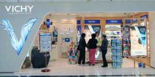 Vichy shop in Hong Kong Stock Photography