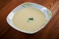 Vichyssoise, traditional french soup Stock Photo