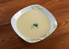 Vichyssoise, traditional french soup Stock Images