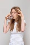 Viciado dos comprimidos Foto de Stock Royalty Free
