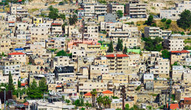 Vicinanza dell'arabo di Gerusalemme Fotografia Stock