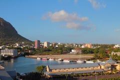 Vicinanza della città Port Louis, Mauritius Immagine Stock Libera da Diritti