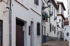 Vicinanza di AlbaicÃn Granada Immagine Stock Libera da Diritti