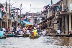 Vicinanza di Belen di Iquitos fotografia stock