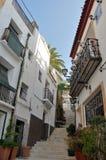 Vicinanza di Santa Cruz, Alicante (Spagna) Fotografia Stock