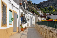 Vicinanza di Santa Cruz, Alicante (Spagna) Fotografie Stock