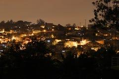Vicinanza suburbian del terzo mondo Fotografia Stock Libera da Diritti