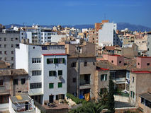 Vicinity. Neighbourhood in a town of Palma de Mallorca (Spain Stock Images