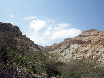In the vicinity of the Dead Sea. Mountain landscape. In the vicinity of the Dead Sea Stock Photography
