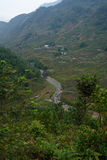 Vicinity of river valley. In Vietnam royalty free stock images