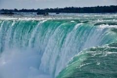 Vicino al cascate del Niagara Fotografie Stock
