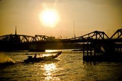 Vicino al fiume Fotografia Stock