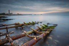 Vicino al paesino di pescatori Fotografie Stock Libere da Diritti