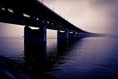 Vicino al ponte Fotografia Stock Libera da Diritti