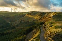 Vicino all'Braich-anno-hydd, Mid Glamorgan, Galles, Regno Unito immagini stock libere da diritti