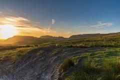 Vicino alla cassapanca, North Yorkshire, Inghilterra, Regno Unito fotografie stock