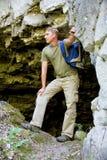 Vicino alla caverna Fotografia Stock Libera da Diritti