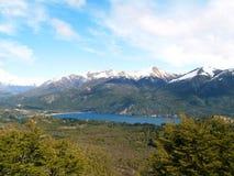 Vicino a Bariloche fotografie stock libere da diritti